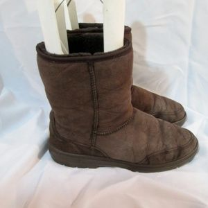 UGG 5220 NEW ZEALAND Ultra Short Leather BOOT